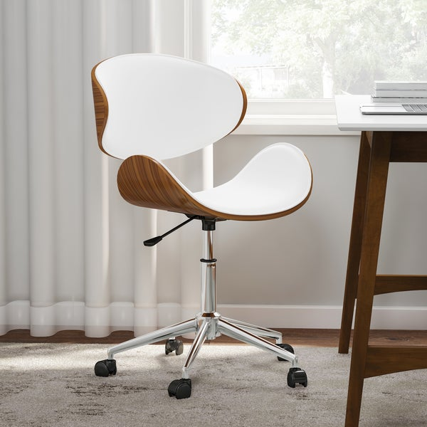 Carson Carrington Malmo Black Wood Office Chair Wooden Office Chairs For Sale O25