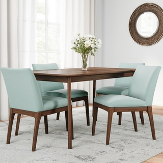 Idalia Mid Century 5 Piece Rectangle Dining Set By