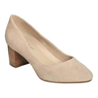 Women's Aerosoles Silver Star Pump Bone Suede