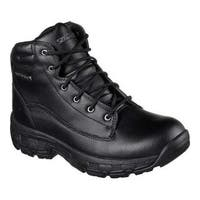 Men's Skechers Relaxed Fit Morson Sinatro Hiking Boot Black