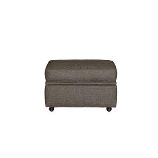 Progressive Colson Grey Upholstered Storage Ottoman