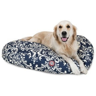 Majestic Pet Navy Blue French Quarter Pet Bed Large Size (As Is Item)