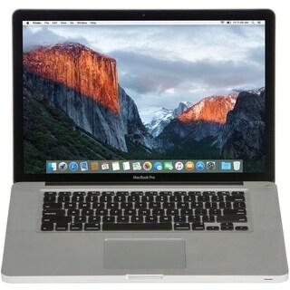 Apple MC723LL/A Macbook Pro 15.4-inch Quad Core i7 4GB RAM 750GB HDD Sierra- Refurbished