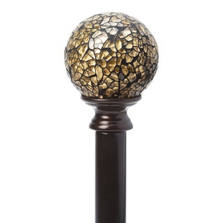 Home Details Gold Mosaic Adjustable Curtain Rod