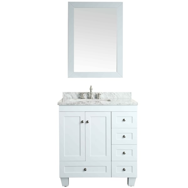 Eviva Hy 30 X 18 White Vanity