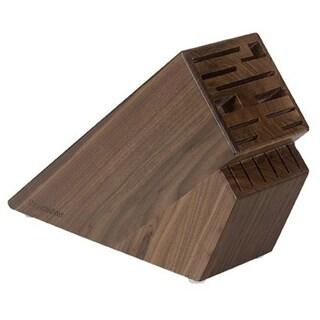 Messermeister 16 Slot Walnut Wood Knife Block