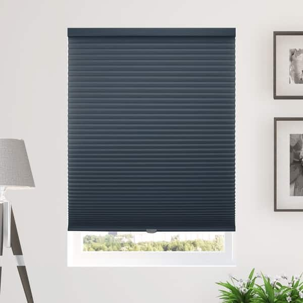 Shop Chicology Cordless Cellular Shades Privacy Single Cell Window