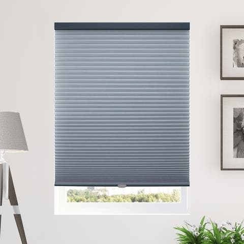 Chicology Cordless Cellular Shades, Privacy Single Cell Window Blind