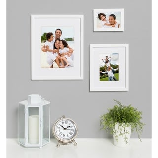 DesignOvation Gallery Wood Photo Frames Set of 4 (More options available)