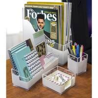 Sorbus Acrylic Desk Organizer