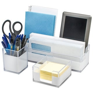 Sorbus Acrylic Desk Organizer (3 options available)
