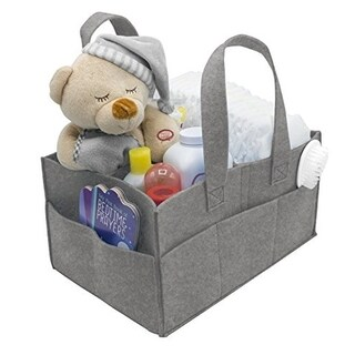 Foldable Felt Nursery Caddy Organizer