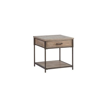 Linsley Square Lamp Table