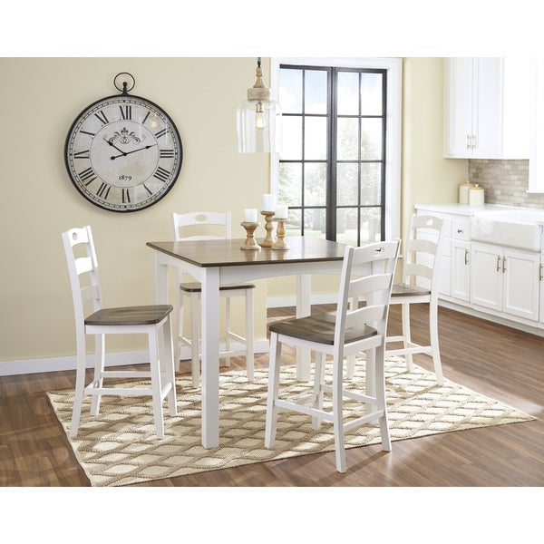 White Dinner Table Set Full Size Of Dining Room Setwhite: Shop Signature Design By Ashley Woodanville White/Brown