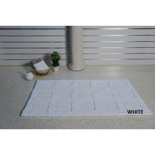 Bath Rug Square Honeycomb Style