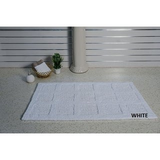 Bath Rug Square Honeycomb Style