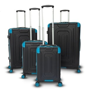 Gabbiano Cordoba Collection 4-Piece Expandable Hardside Spinner Set