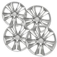"OxGord Silver 16"" Wheel Cover/Hub Cap for Select Hyundai Sonata 55565"