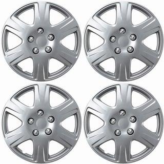 OxGord Silver 15 Inch Wheel Cover/Hub Cap Fits Toyota Corolla - 61133