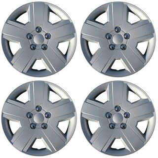 "OxGord Silver 16"" Wheel Cover/Hub Cap Fits Select Dodge Charger - 8029"