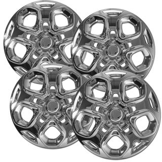 OxGord Chrome 17 Inch Wheel Cover/Hub Cap Fits Most Vehicles - 7052