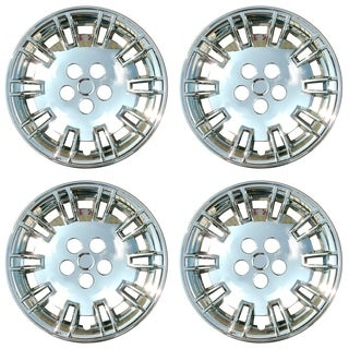 OxGord Chrome 17 Inch Wheel Cover/Hub Cap Fits Most Vehicles - 8022