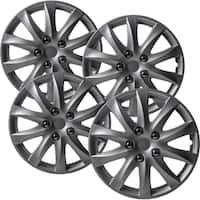 "OxGord Silver 16"" Wheel Cover/Hub Cap Fits Select Toyota Camry - 69565"