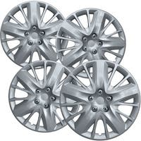 "OxGord 18"" Silver Hubcaps for Select Chevy Impala/Universal Fit - 3299"