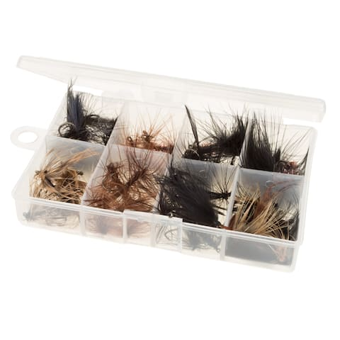Fly Fishing Lures, 50 Piece by Wakeman Outdoors