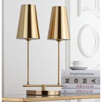 Safavieh Lighting 22.5-inch Rianon Brass Gold Table Lamp