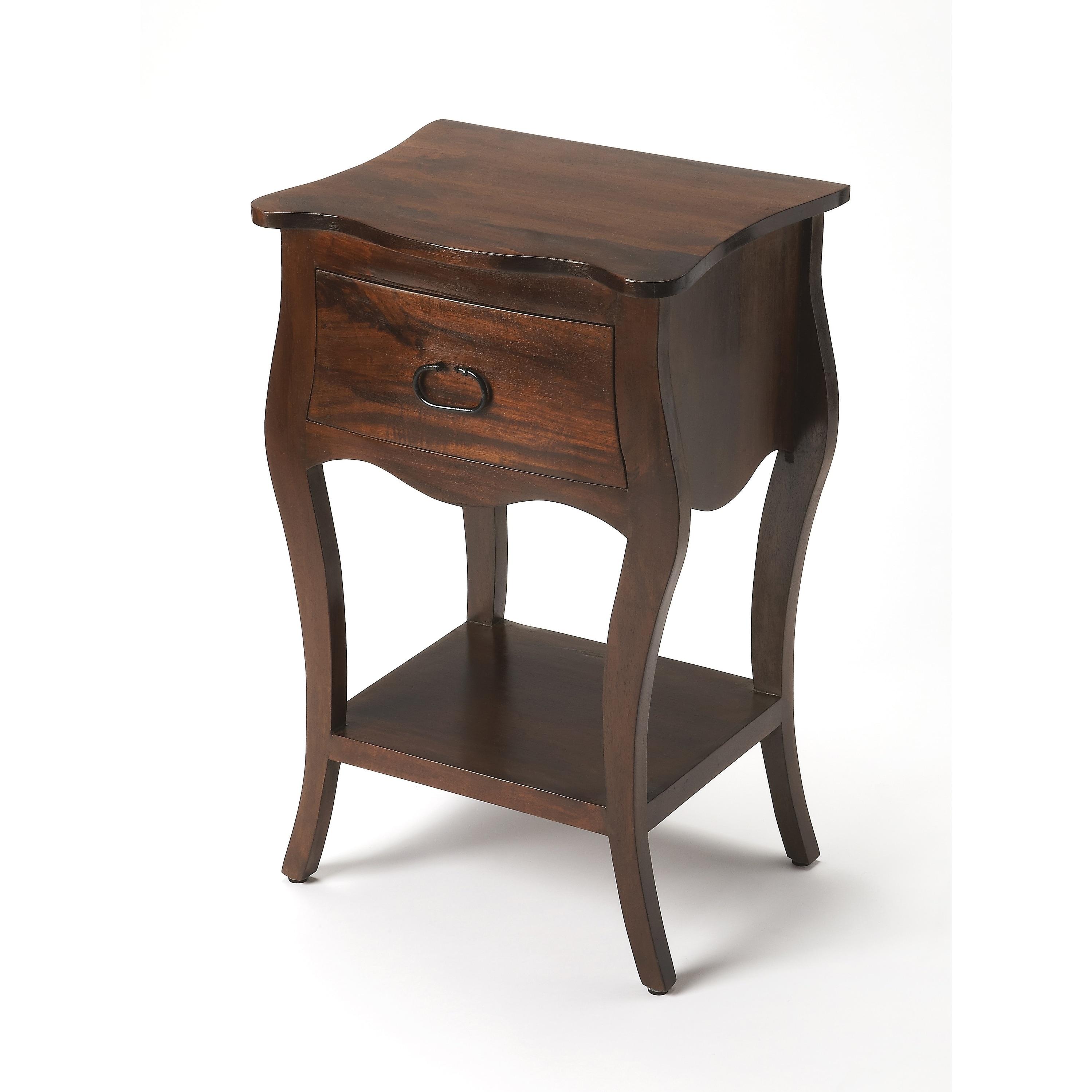 Butler Rochelle Antique Walnut Nightstand