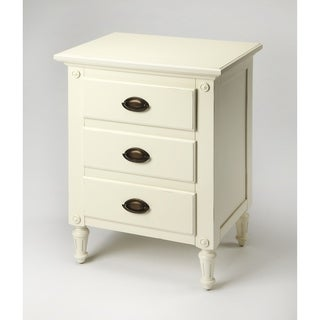 Butler Easterbrook White-finish Wood Nightstand