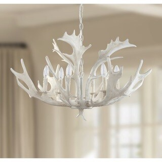 Safavieh Lighting 30-inch Birch Antler Chandelier