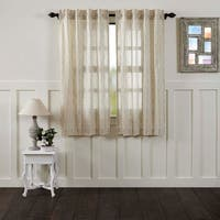 "Ava Lined Short Curtain Panel Set of 2 - 63"" x 36"""