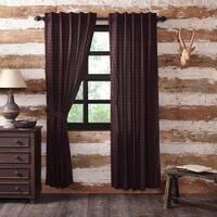 "Glennock Plaid Lined Curtain Panel Set of 2 - 84"" x 40"""