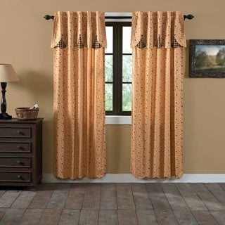 "Maisie Lined Curtain Panel Set of 2 - 84"" x 40"""