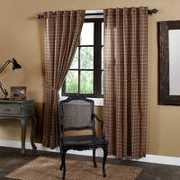 """Crosswoods Lined Curtain Panel Set of 2 - 84"""" x 40"""""""