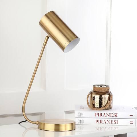 "Safavieh Lighting 23-inch Contemporary Crane Task LED Table Lamp - 13""x7""x22.5"""