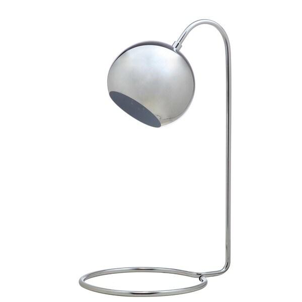 Safavieh Lighting 22-inch Mid-Century Modern Chrome Jana Task Table Lamp