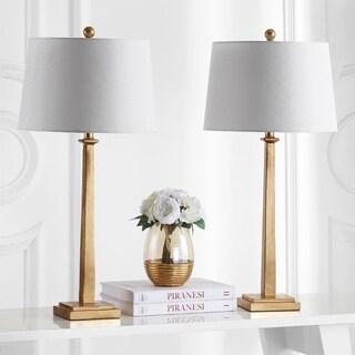 Safavieh Lighting 32-inch Andino Gold Table Lamp (Set of 2)