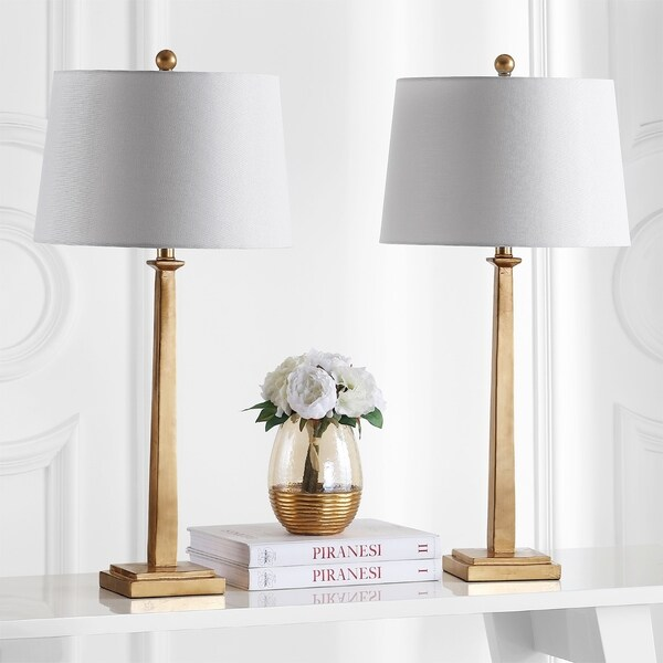 Safavieh Lighting 31.5-inch Andino Gold Table Lamp (Set of 2)