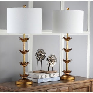 Safavieh Lighting  Lani Leaf 32-Inch Table Lamp