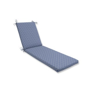 Pillow Perfect Outdoor/Indoor In The Frame Sapphire Chaise Lounge Cushion 80x23x3