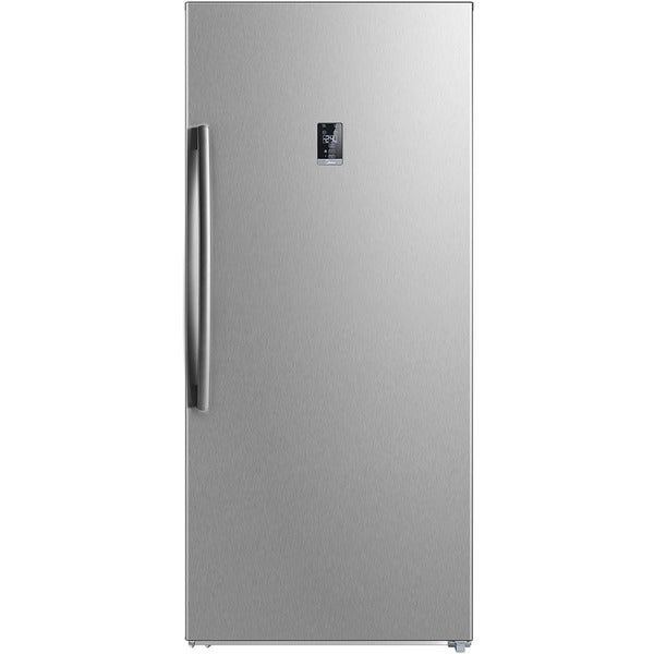 21-Cu. Ft. Convertible Upright Freezer in Stainless Steel. Opens flyout.