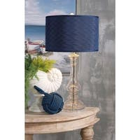 Urban Designs Angelina 28-Inch Tall Glass Table Lamp
