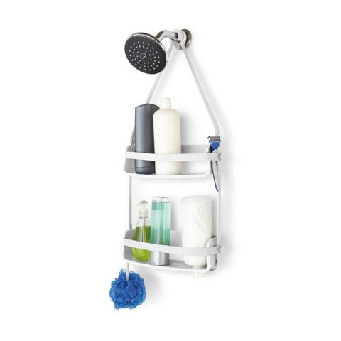 Umbra Flex White Shower Caddy
