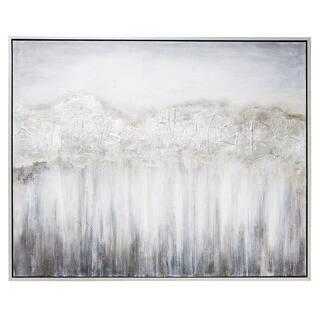 Nightdusk Silver Gallery Wrapped Framed Art