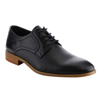 Arider AG55 Men's Lace Up Stacked Heel Office Oxfords