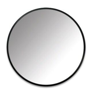 """Umbra Hub 24 Inch Round Modern Wall Mount Mirror - 24"""""""