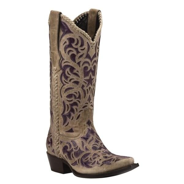 WEBB (Purple) Women's Cowboy Boots